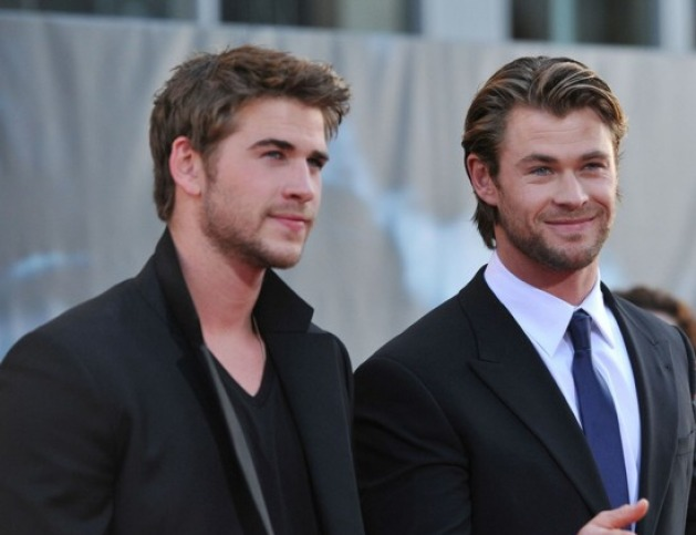 ¿Serán Liam y Chris Hemsworth los hermanos Christian y Elliot Grey en la película?