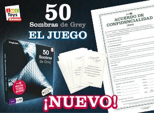 El Juego de mesa Oficial de 50 Sombras de Grey ¡Ya a la venta!