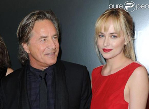 Don Johnson, orgulloso de su hija Dakota