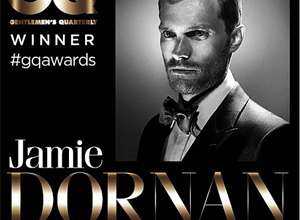 Jamie Dornan en los premios GQ Men of the year