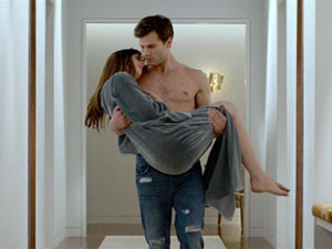 La película de 50 Sombras de Grey sigue batiendo records